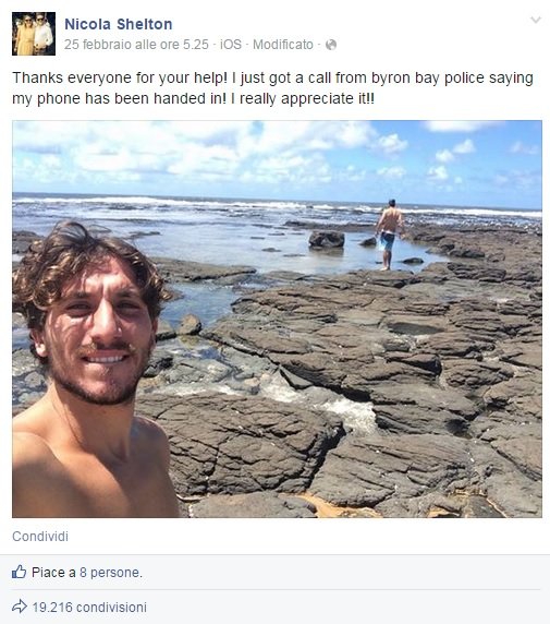 nicola-shelton-iphone-ruba-selfie-ladro