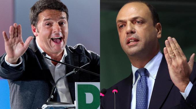Renzi e Alfano alleati di governo - www.liquida.it