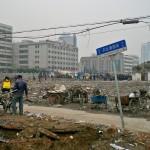 Tantissime organizzazioni non governative protestarono contro Expo 2010. Per fare spazio all'area espositiva, il governo di Shanghai rase al suolo le abitazioni di circa 18.000 persone - operazione ancora oggi del tutto legale in Cina