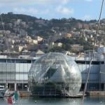 Una vista dell'acquario di Genova, inaugurato per l'Expo del 1992, con la collaborazione di Renzo Piano