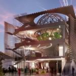 Il progetto per il padiglione dell'Azerbaijan a Expo 2015, a Milano