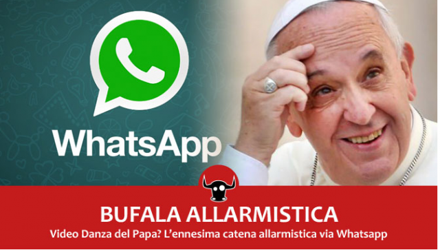 La danza del Papa (fonte: focustech.it)