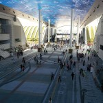 Il progetto della galleria digitale a Yeosu 2012