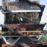 Il padiglione olandese a Expo2000 visto dall'esterno