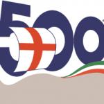 Il logo dell'esposizione specializzata di Genova 1992, che commemora i 500 anni dell'impresa di Colombo