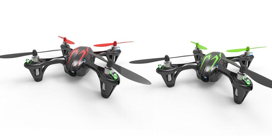 Esempi di droni a 4 motori (www.radiosistemi.it)