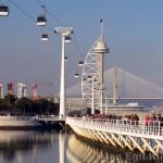 Una panoramica del sito espositivo di Expo 1998