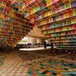 Il coloratissimo padiglione sudcoreano a Expo2010