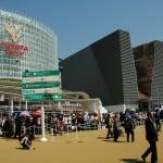 I padiglioni di Toyota e Hitachi a Expo 2005