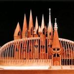 L'Ungheria si distingue da diverse esposizioni per la creatività dei suoi padiglioni. Questo il progetto per Expo 1992
