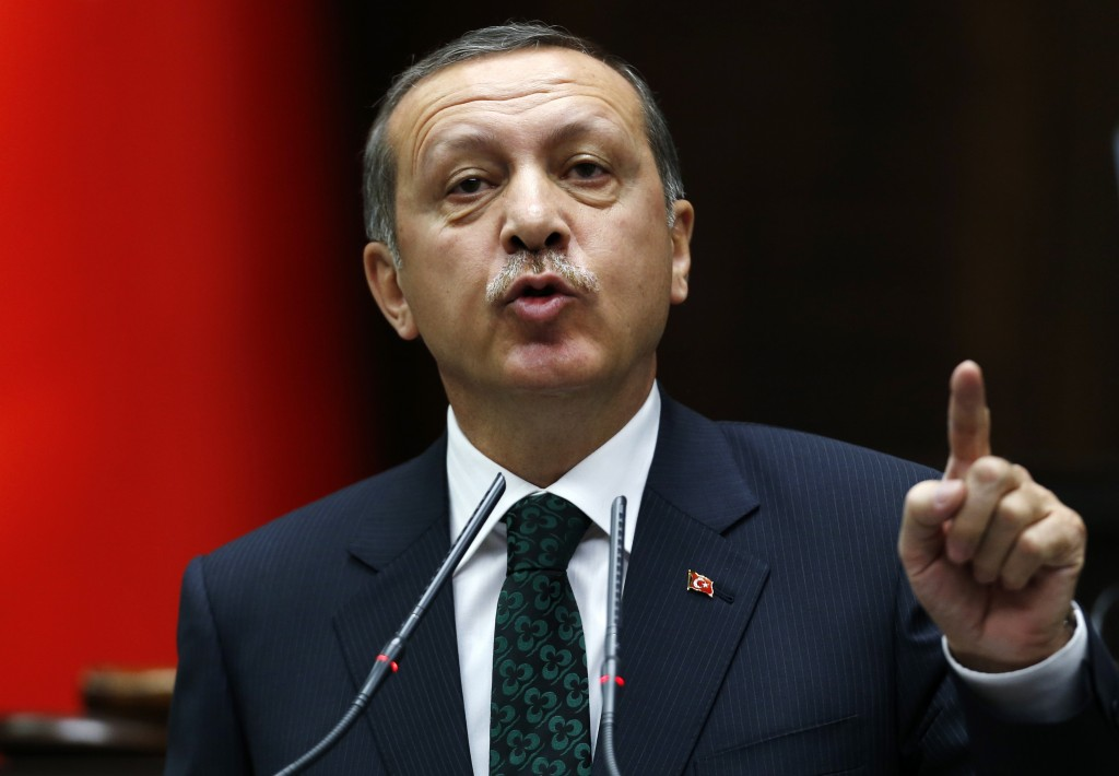 Il premier turco Recep Erdogan