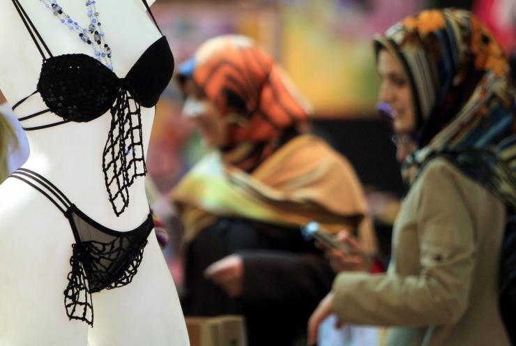 Lingerie delle donne musulmane (www.ibtimes.com)