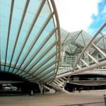 La stazione orientale di Lisbona fu costruita in occasione di Expo, progettata da Calatrava