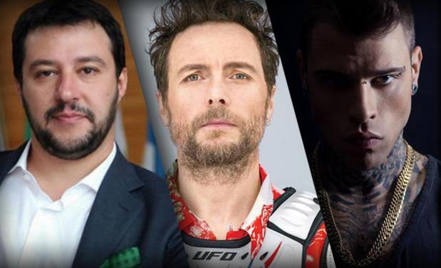 Jovanotti, Salvini, Fedez