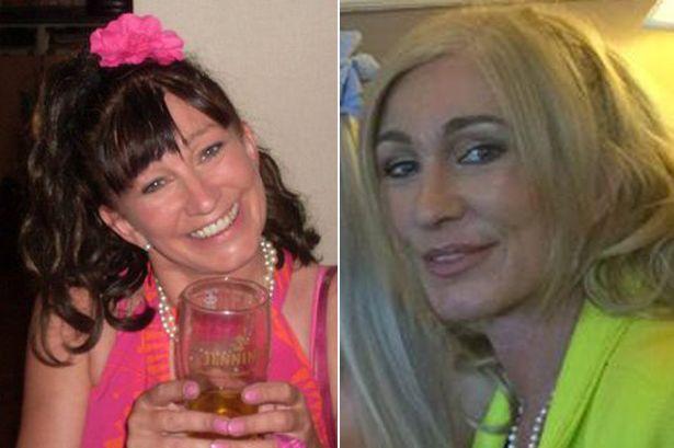 Andrea Delzell: prima e dopo gli interventi di chirurgia estetica (www.mirror.co.uk)