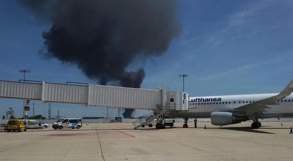incidente aereo militare a Siviglia
