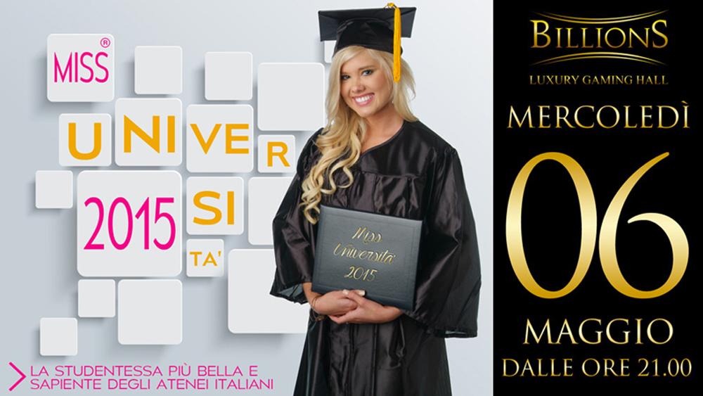 Il volantino del concorso Miss Università istituito dalla Sapienza di Roma (www.today.it)