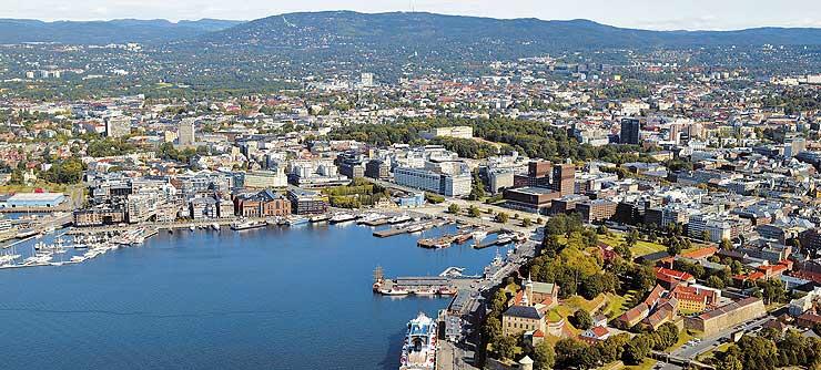 Una veduta di Oslo, in Norvegia (www.news.fidelityhouse.eu)