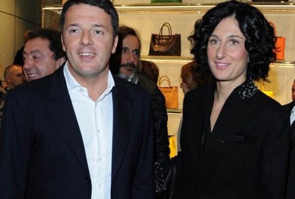 Matteo Renzi e Agnese Landini (fonte: bellaweb.it)