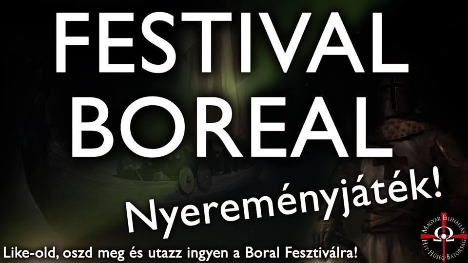 Manifesto Festival Boreal (www.milano.forzanuova.info)