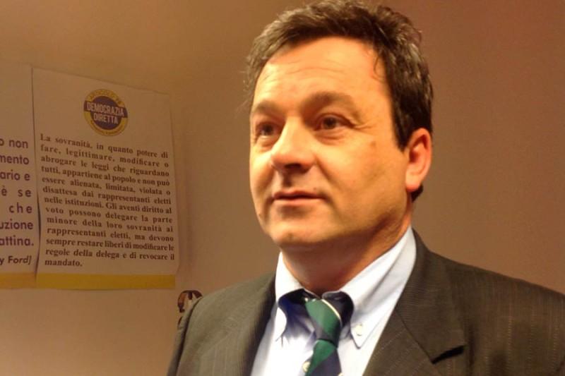 Gabriele Chiurli, candidato per Democrazia Diretta (www.nocensura.com)