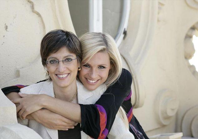 Michelle Hunziker e Giulia Bongiorno (www.famigliacristiana.it)