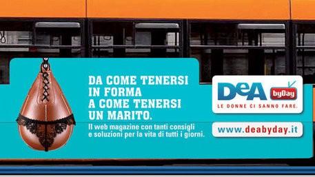 La pubblicità incriminata (www.ansa.it)