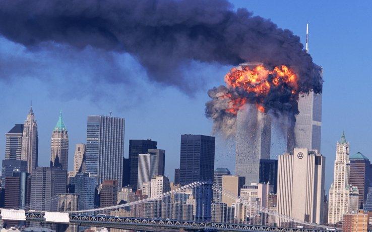 L'attacco alle Torri Gemelle di New York l'11 settembre 2001