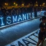 Manifestazione contro l'odio a Charleston, Louisiana