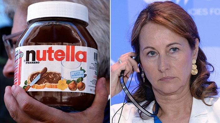Il ministro dell'Ecologia francese Royal ha esortato i suoi concittadini a non mangiare la Nutella (www.lastampa.it)