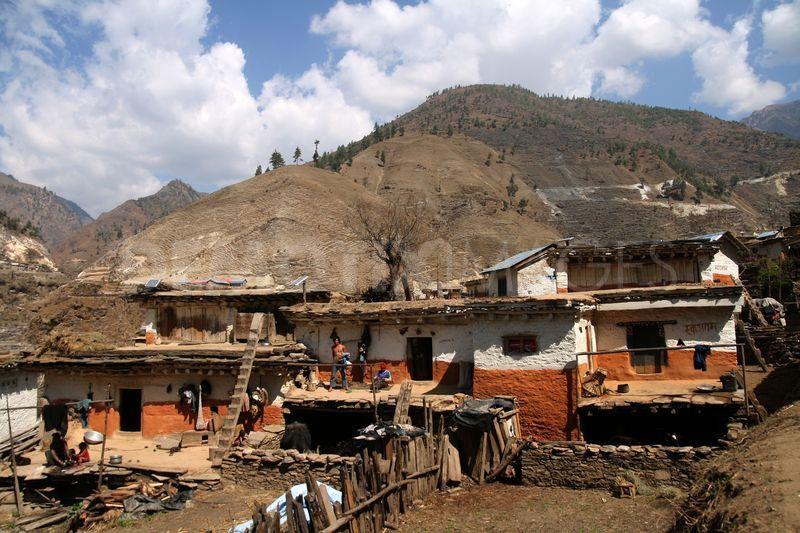 Una veduta del villaggio di Gumla, a circa 450 km da Calcutta (www.pixnepal.wordpress.com)