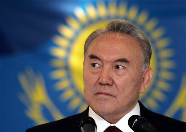 Nursultan Nazarbayev, presidente della Repubblica del Kazakistan (fonte: asianews.it)