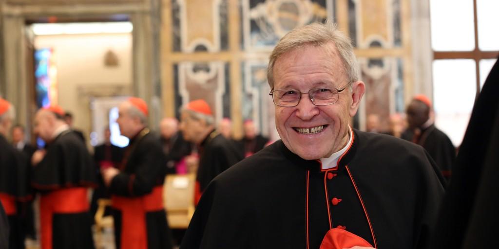 Il cardinale Walter Kasper, autore del documento introduttivo allo scorso Sinodo straordinario (huffpost.com)