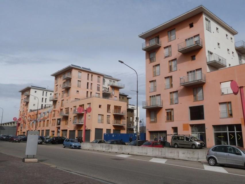 Un'altra immagine dell'ex villaggio olimpico di Torino (www.torinotoday.it)