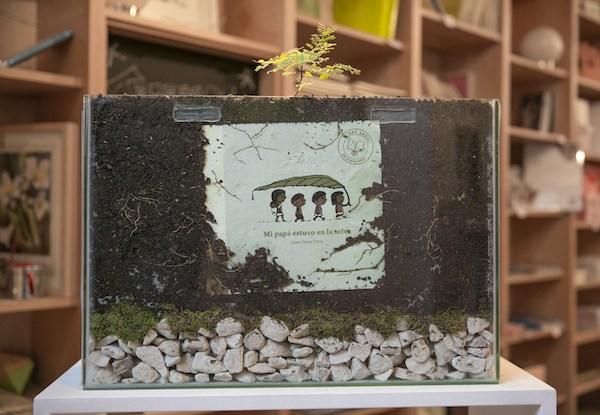Il libro-albero della casa editrice argentina Pequeño Editor (www.pequenoeditor.com)