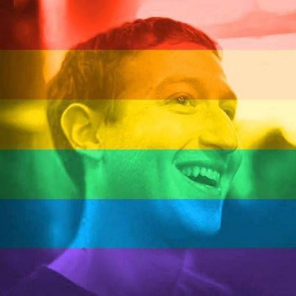 Celebrate Pride, il tool di Faceoobk che festeggia l'orgoglio gay (fonte: downloadblog.it)