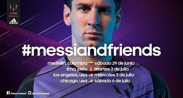 Le partite di beneficenza 'Messi & Friends' nel mirino della DEA (fonte: totalbarca.com)