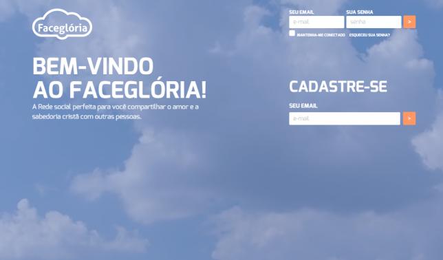 L'homepage di FaceGloria (www.meteoweb.eu)