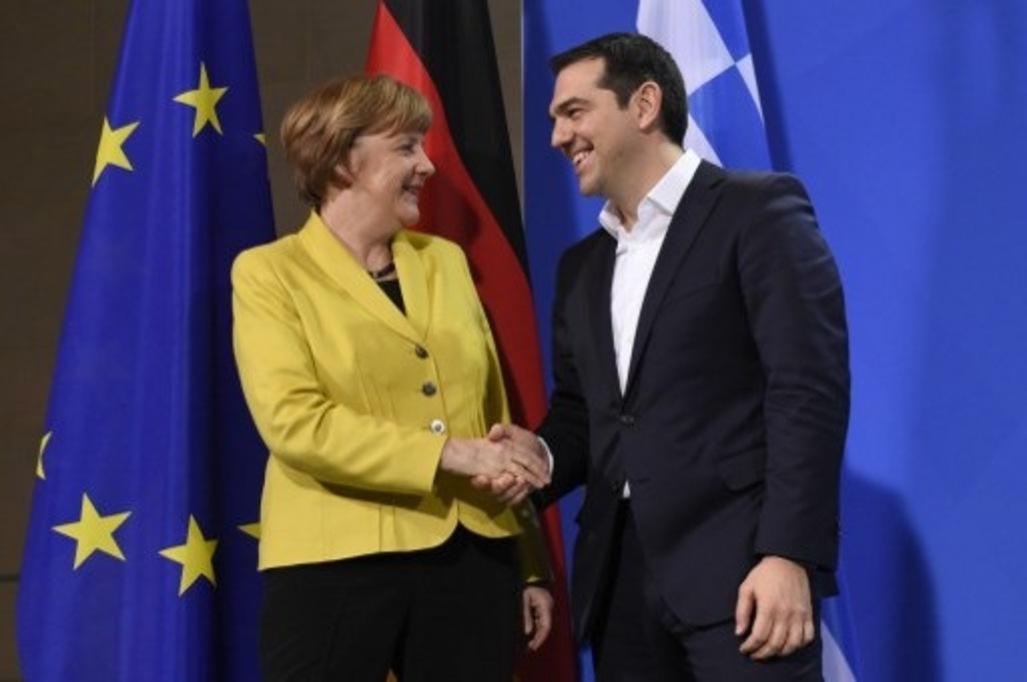 Tsipras e Merlel