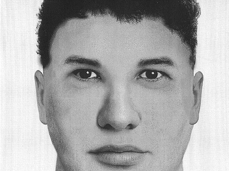 Ermias Ghermay nell'identikit della polizia (www.news.sky.com)
