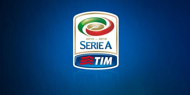 Il logo ufficiale della stagione di Serie A 2015 - 2016 del campionato di calcio italiano