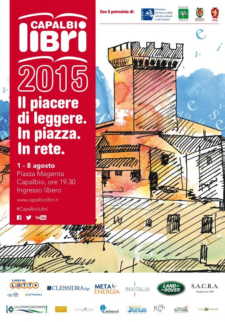 Il manifesto di Capalbio Libri 2015 (www.capalbiolibri.it)