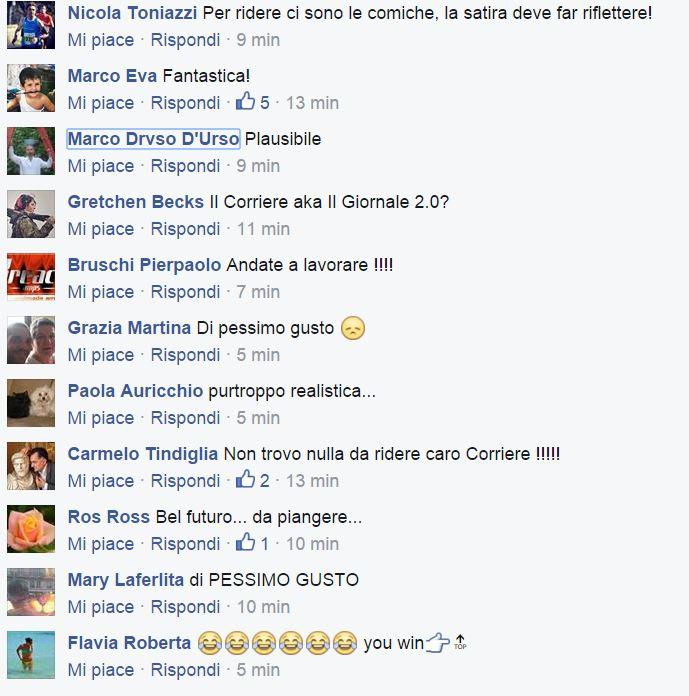 Le reazioni su Facebook alla vignetta di Giannelli  (nextquotidiano.com)