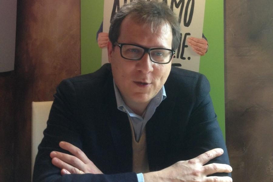 Il sindaco di Treviso, Giovanni Manildo (www.venetouno.it)