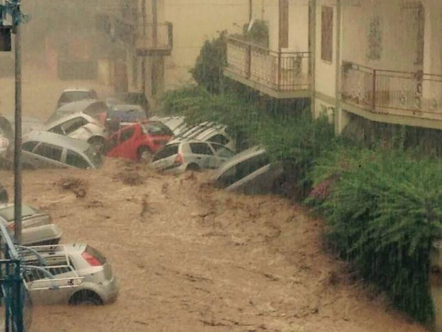 Rossano e Corigliano sono state somemrse da un'alluvione (meteoweb.eu)