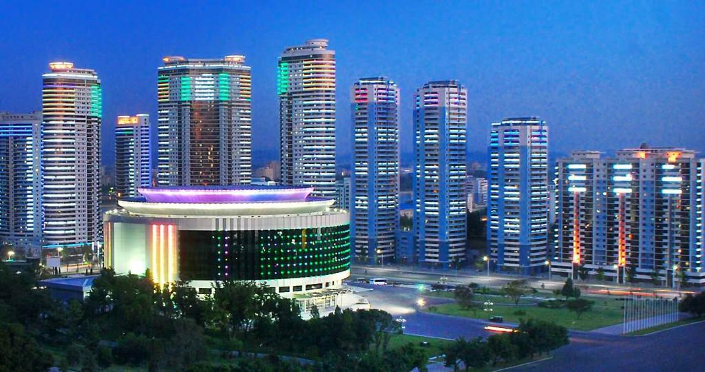 Una veduta di Pyongyang, capitale della Corea del nord (www.www.businesskorea.co.kr)