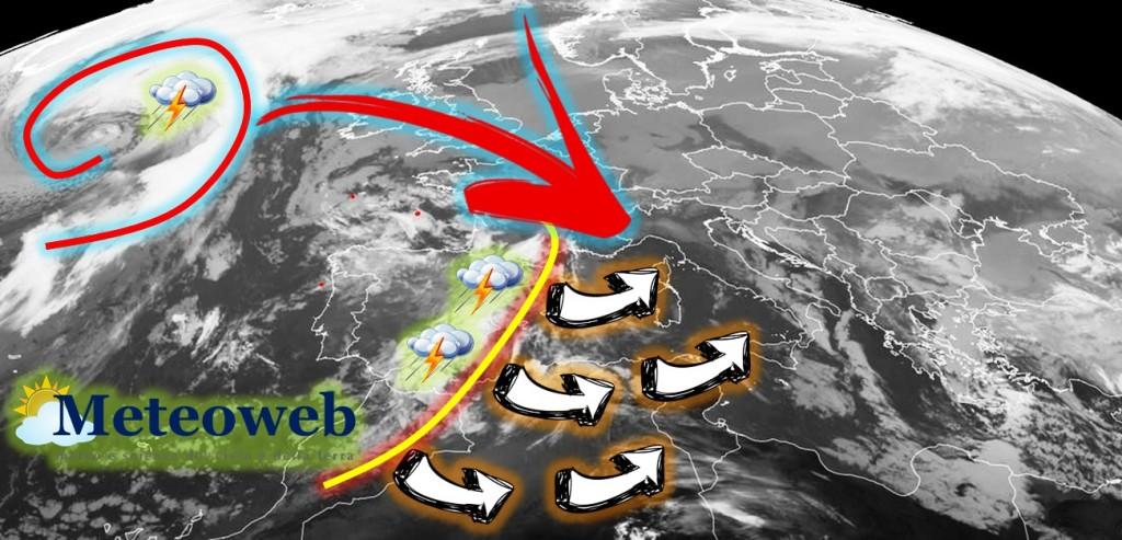 Primo fine settimana di agosto 2015 all'insegna dei temporali al Nord e al Centro e del caldo al Sud (www.meteoweb.eu)