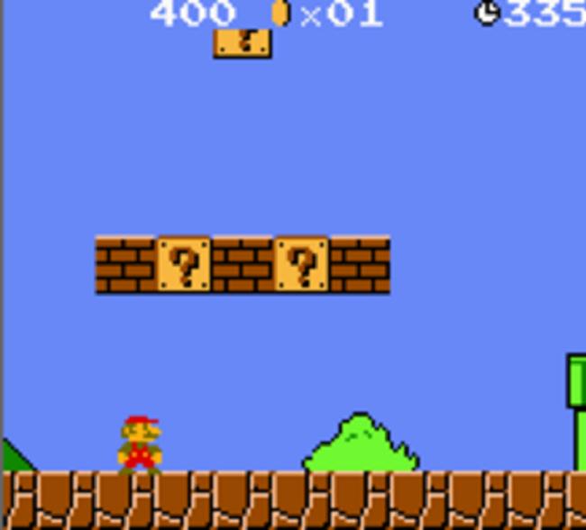 La mitica schermata dei videogame con protagonista Super Mario (softonic.it)