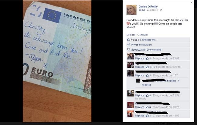 Cupido si manifesta anche attraverso i social network (facebook.com)