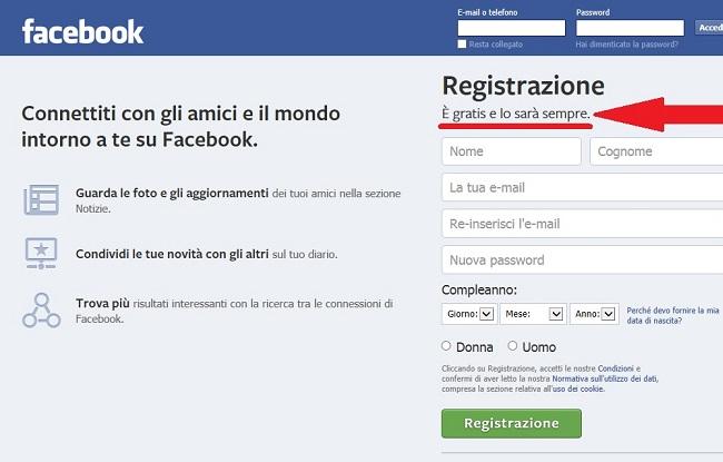 La prova schiacciante della gratuità di Facebook (mbclick.it)